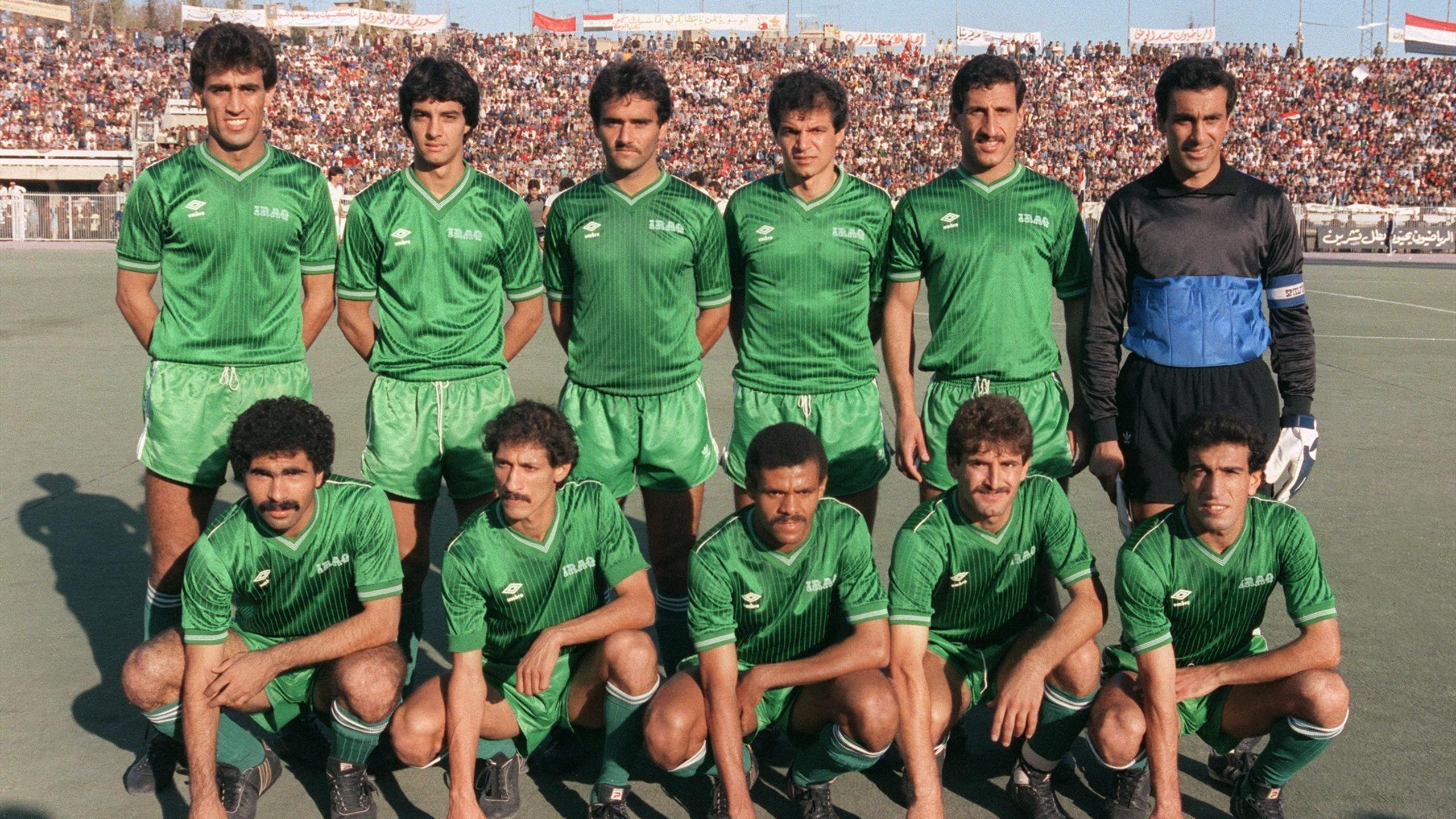 Les anciennes gloires du football irakien