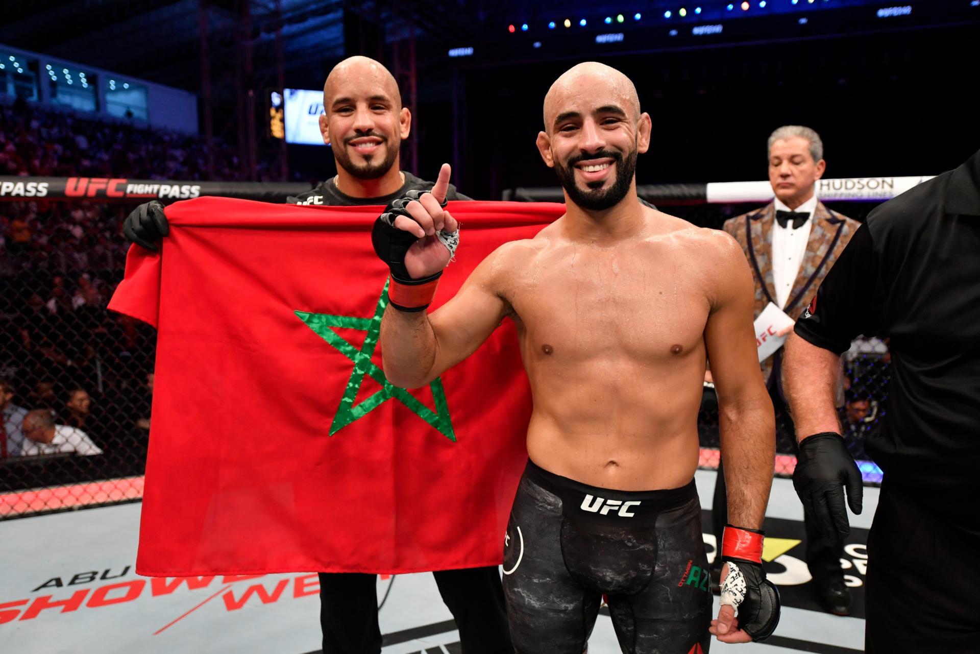 MMA:  Victoire par KO d'Ottman Azaitar face à Khama Worthy
