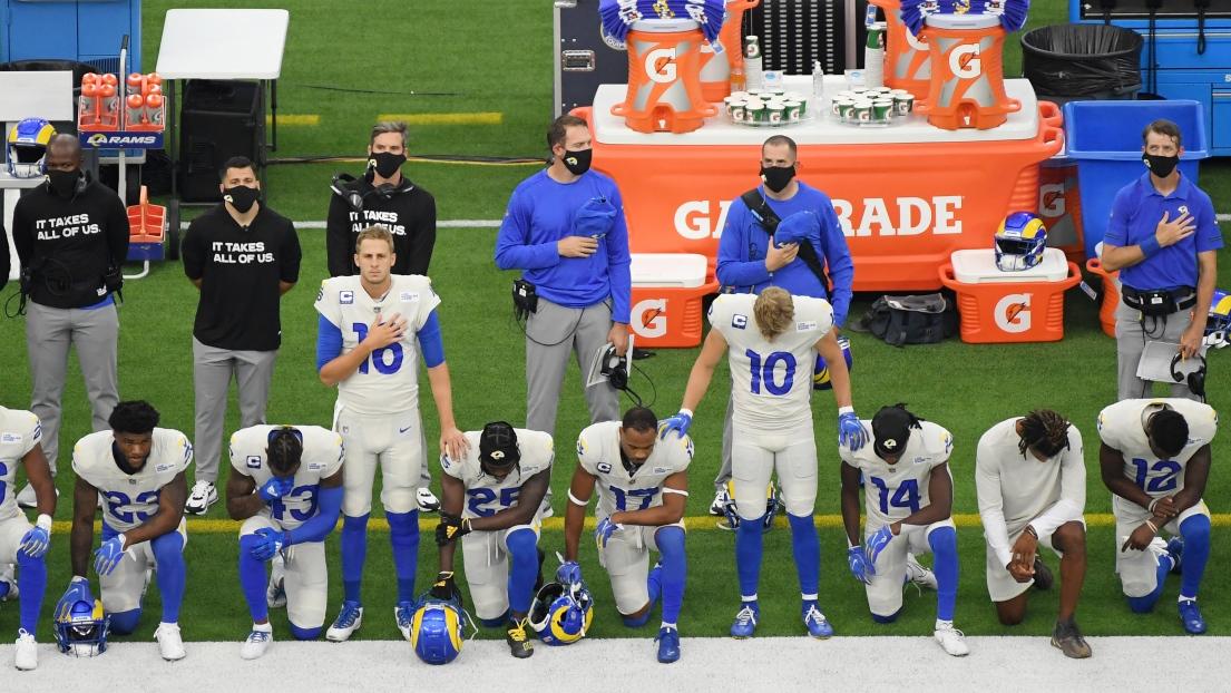 Football américain (NFL): Des genoux à terre pour les premiers matches de la saison