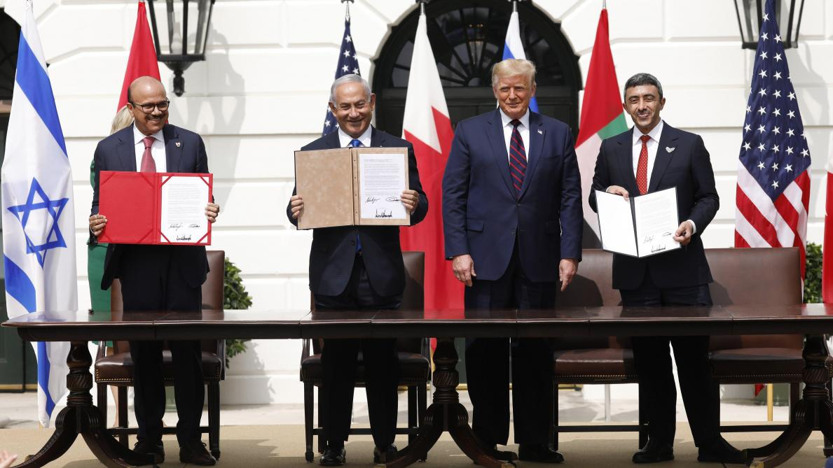 Israël, les Emirats arabes unis et Bahreïn scellent leur entente à la Maison Blanche