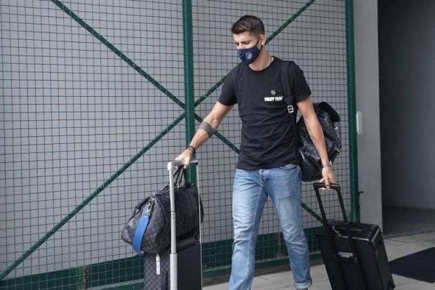 Morata arrivé à Turin, sur le point d'être prêté à la Juventus