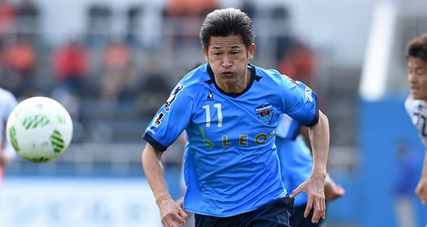 Football / Miura, le plus vieux titulaire du championnat japonais