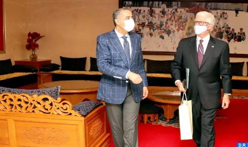 Coopération sécuritaire : Hammouchi reçoit l'ambassadeur des Etats-Unis au Maroc