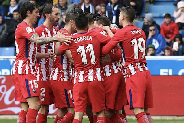Incroyable mais vrai (2) : Les joueurs de l'Atletico Madrid renoncent à 20% de leur salaire pour aider le club !