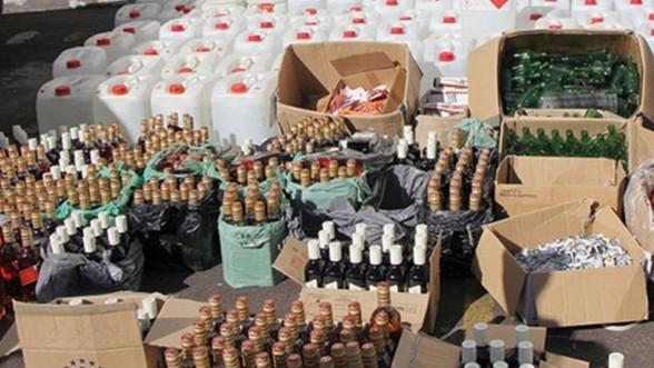 Campagne d'assainissement : Plus d'un million de bouteilles d'alcool saisies par la DGSN