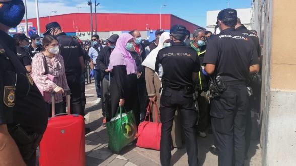 Imminent retour des Marocains bloqués à Mellilia, Sebta temporise