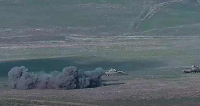 Nagorny-Karabakh : Les confrontations dégénèrent
