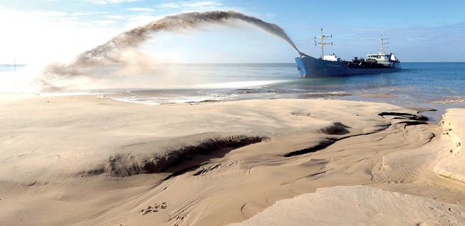 Dragage de sable maritime: une nouvelle vague de polémique