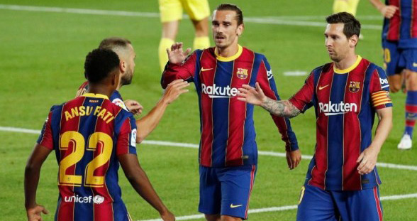 Liga : Messi marque, Fati brille, le Barça gagne... et tout est oublié ?