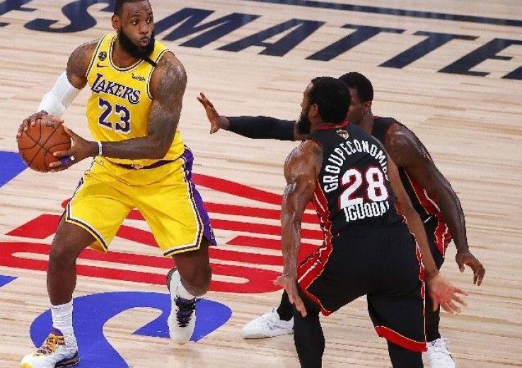 Finale NBA: Démonstration de force des Lakers, soirée cauchemar pour Miam