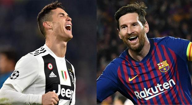 Ligue des champions:  Messi contre Ronaldo ? Avantage à l'Argentin