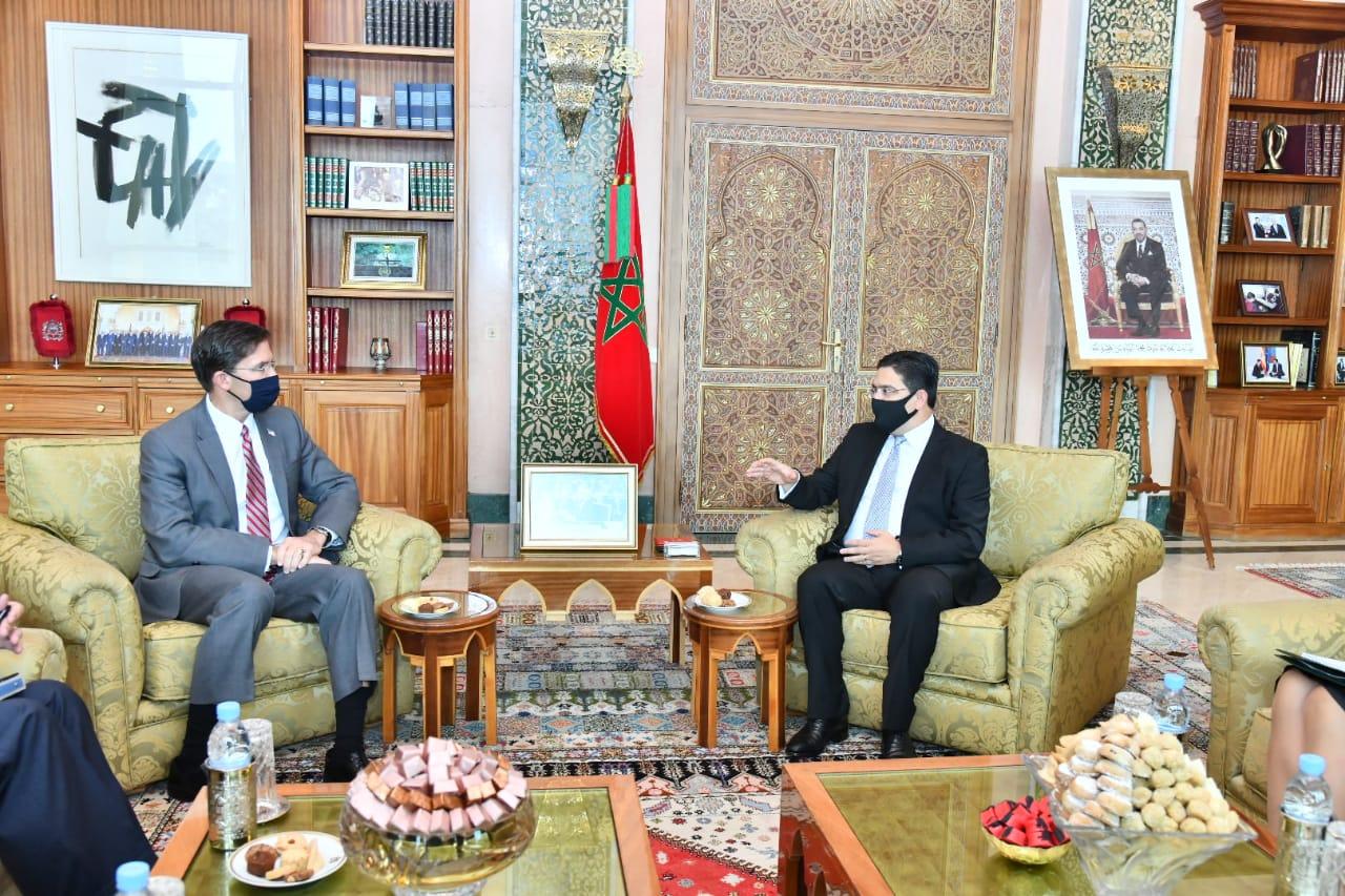 Rabat : accord de coopération militaire avec le chef du Pentagone