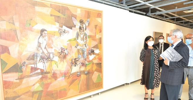Culture : L'Espace Expressions CDG donne une « Carte blanche » à Yamou