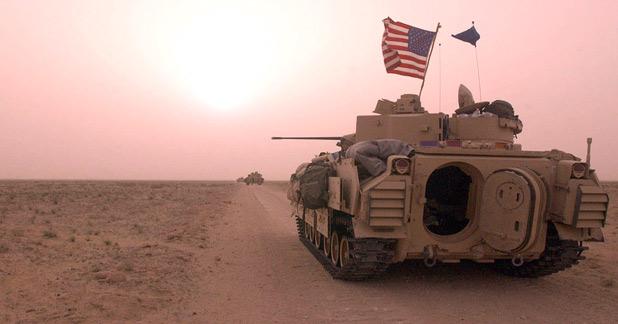Irak : Des troupes US cibles de roquettes
