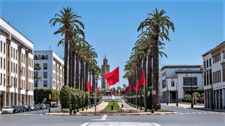 Avenue Mohammed V de Rabat (Ph. Nidal)