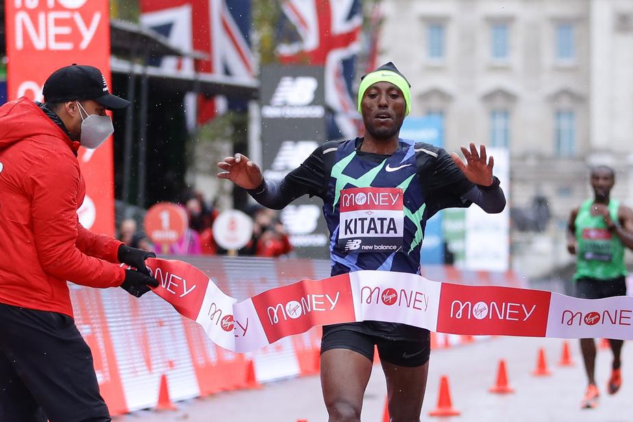 Marathon de Londres: Victoire de l'Ethiopien Shura Kitata