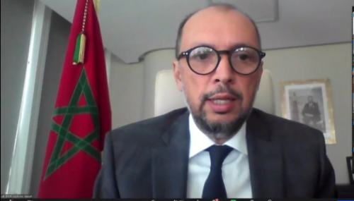 OCDE: Mohcine Jazouli présente le plan d'action de SM le Roi pour lutter contre la Covid-19