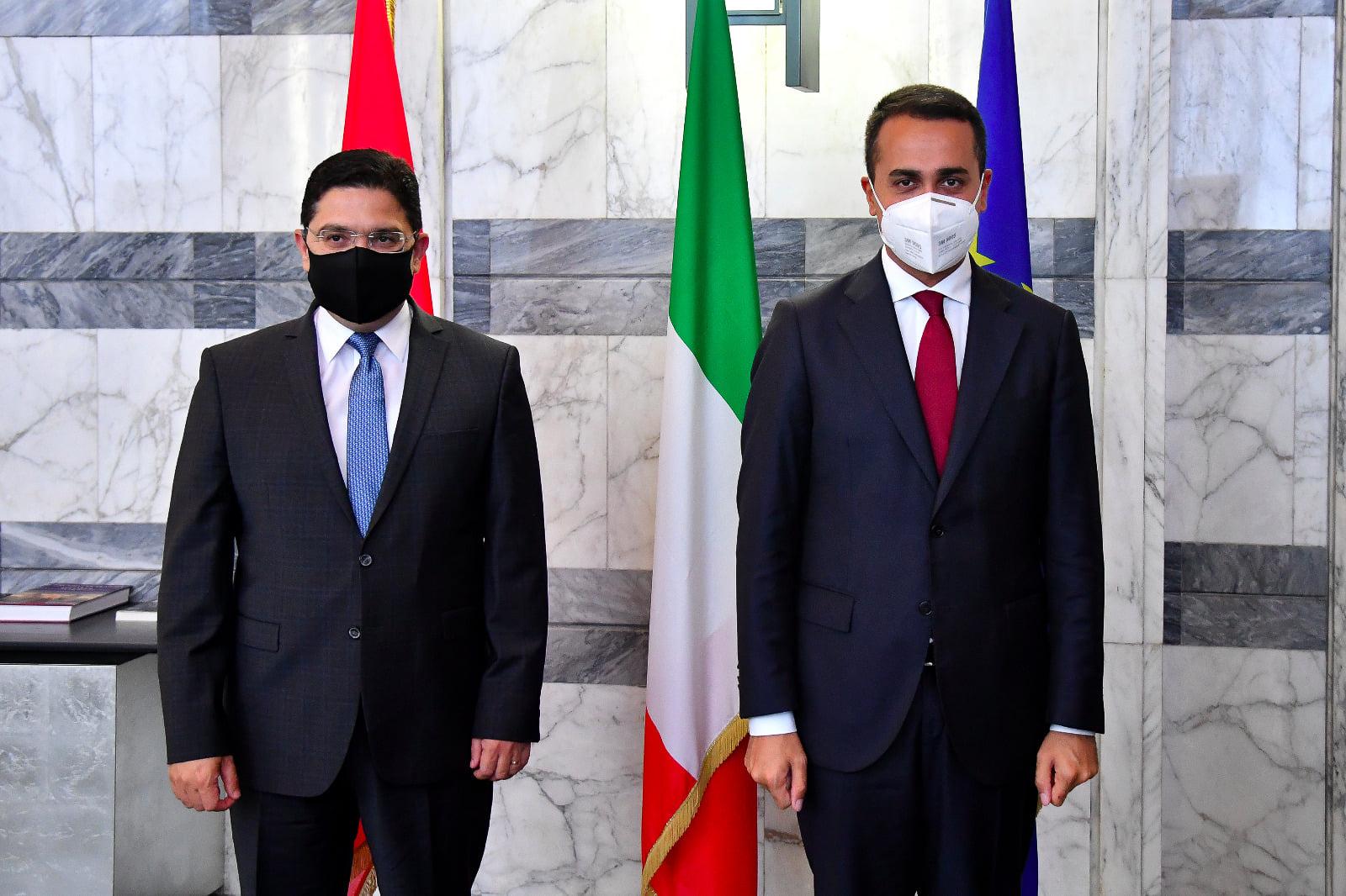 Nacer Bourita effectue une visite officielle en Italie