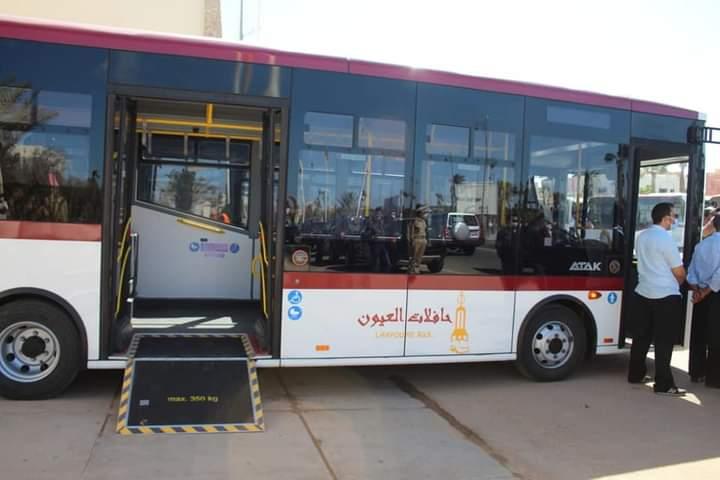 Laâyoune se dote d'un nouveau parc de Bus