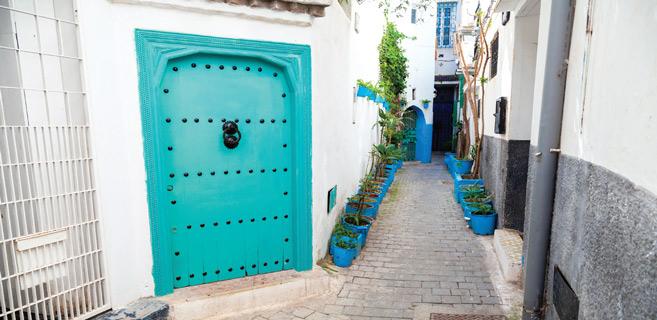 Tanger : La mythique médina prend des couleurs