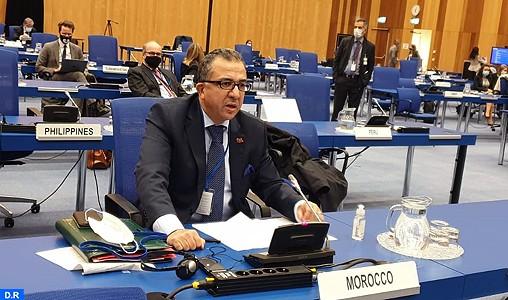 Azzeddine Farhane, représentant permanent du Royaume auprès des Organisations internationales à Vienne.