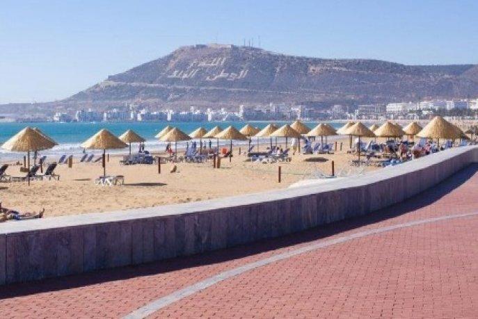 Réouverture des plages à Agadir