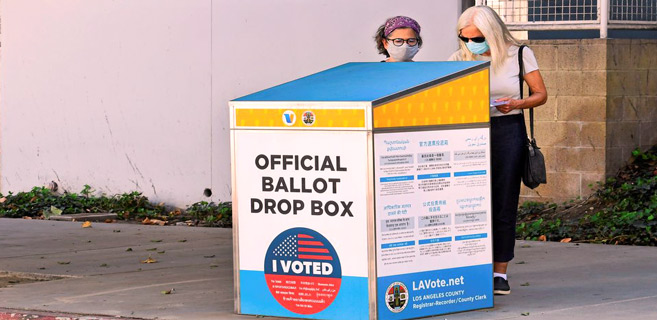 Présidentielle US : Le Parti républicain a placé des fausses urnes en Californie