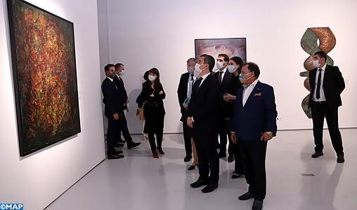 Gérald Darmanin salue l'engagement du Souverain pour la promotion de la culture