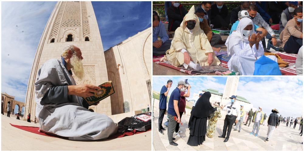 Après sept mois de suspension, les mosquées du Royaume ont accueilli les fidèles pour l'accomplissement de la prière du vendredi (Ph : Kamal/ Nidal).