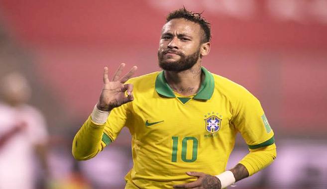 Mondial-2022/Qualifications Amsud : Le Brésil reste en tête, triplé de Neymar