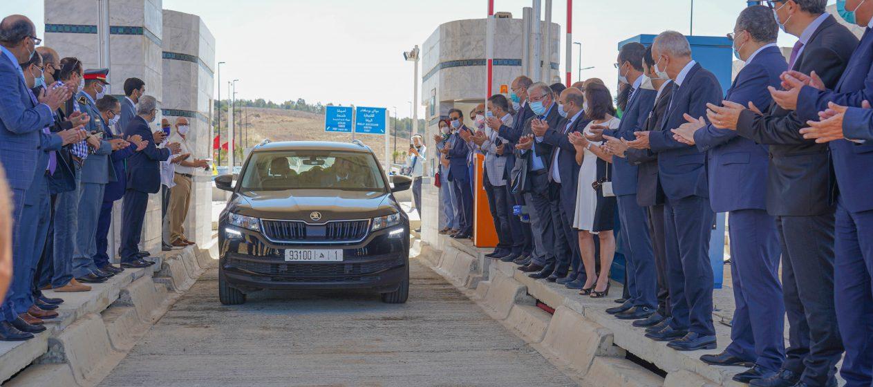 Casablanca-Berrechid : Inauguration de 2 gares de péage, nouvelle génération