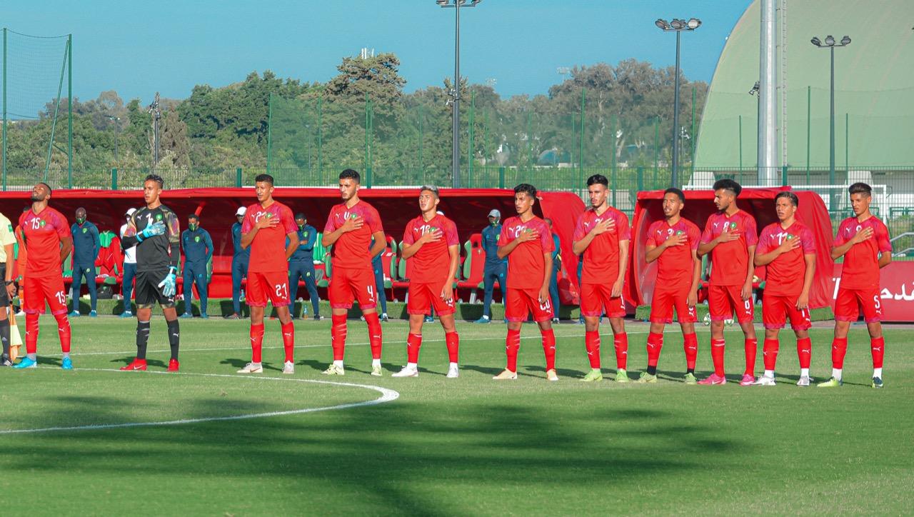 Football / La sélection nationale U20 en stage de préparation à Maâmoura