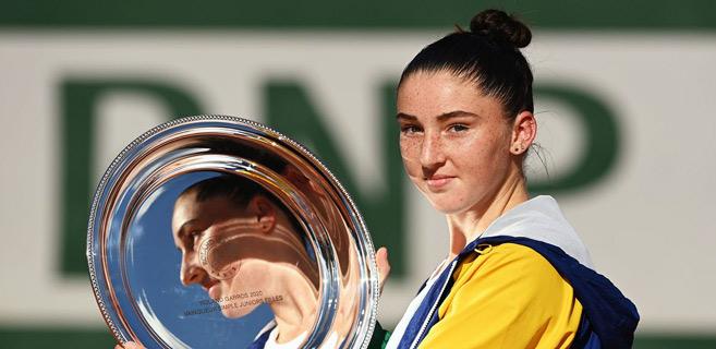 -La Française Elsa Jacquemot, vainqueur en juniors