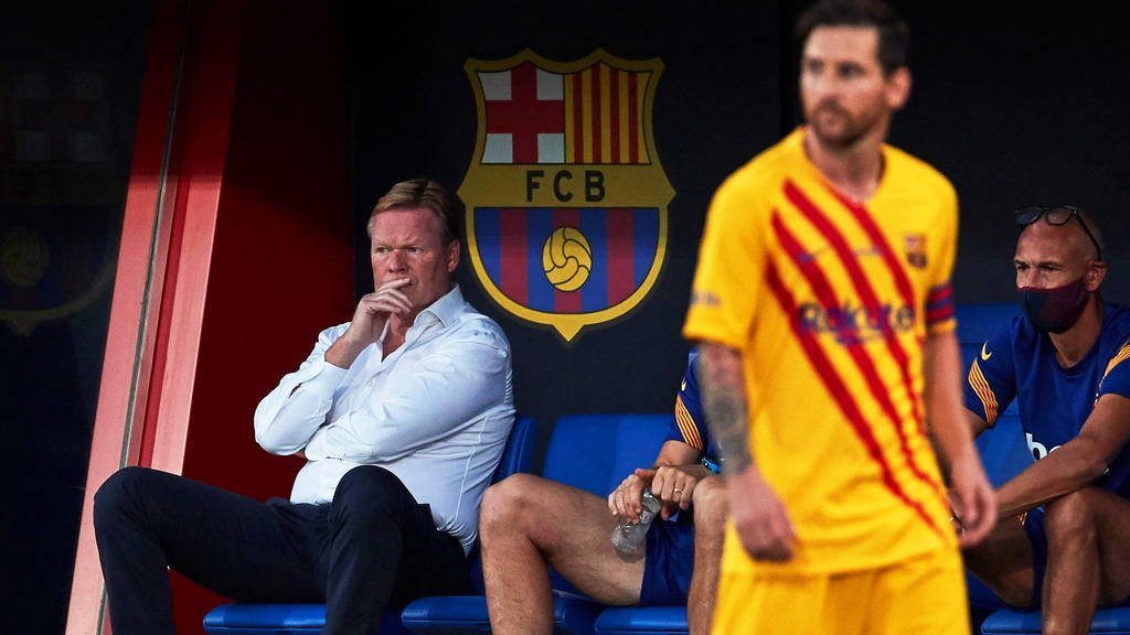 """Koeman, entraîneur du FC Barcelone : """"Je n'ai aucun doute sur le rendement de Messi"""""""