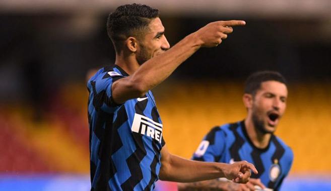 Magazine : Achraf Hakimi, l'ailier qui déborde d'ambition à l'Inter