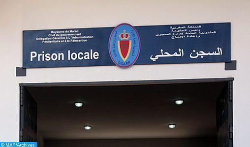 Benslimane: l'administration de la prison locale dément les allégations publiées concernant la contamination d'un détenu par le Covid-19