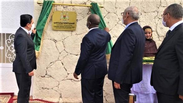 La République du Burkina Faso et la Guinée-Bissau ouvrent des consulats généraux à Dakhla