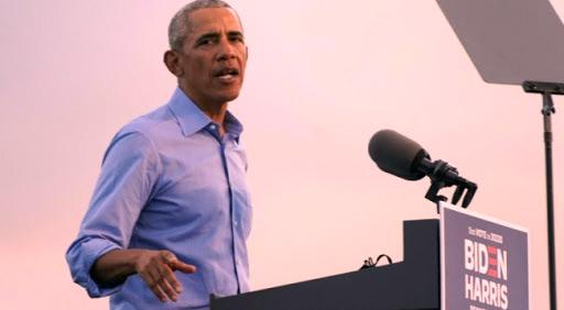 Présidentielle US : Attaqué par Obama et Biden, Trump affiche sa confiance