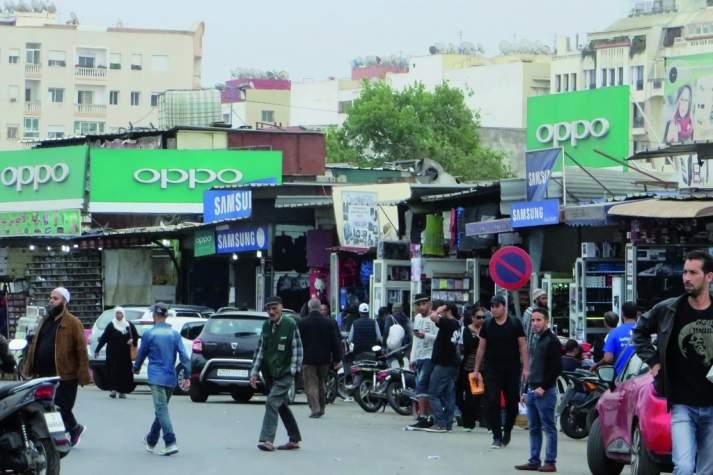 Derb Ghallef : Saisie importante de smartphones volés en Europe