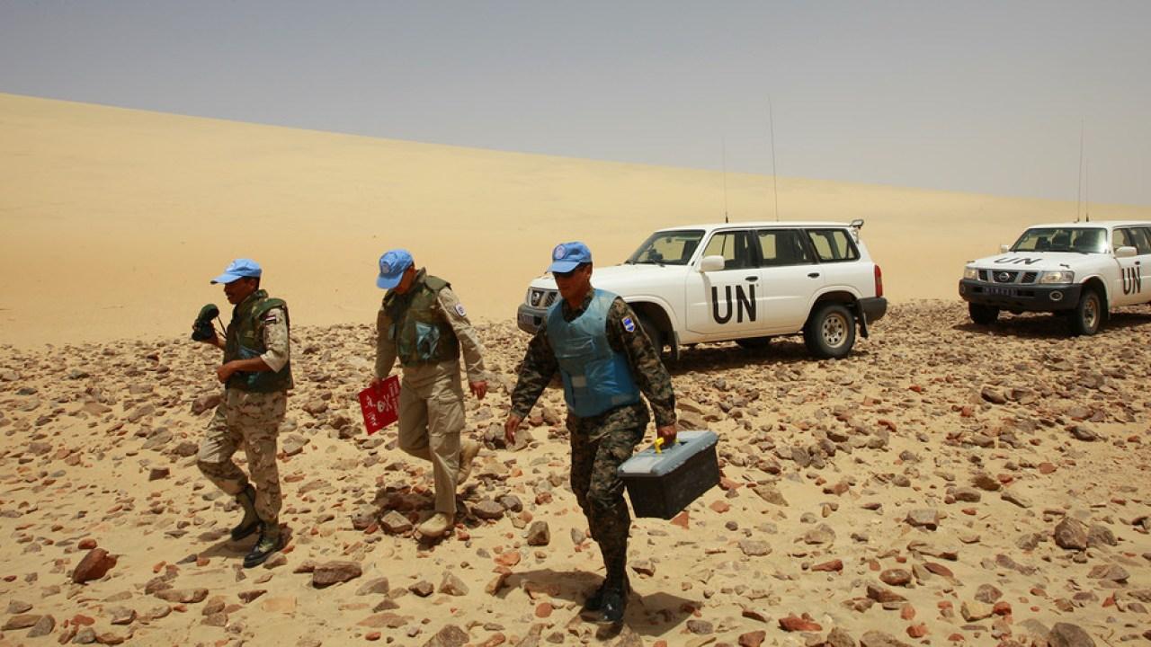 Sahara Marocain : le mandat de la MINURSO renouvelé pour une année de plus