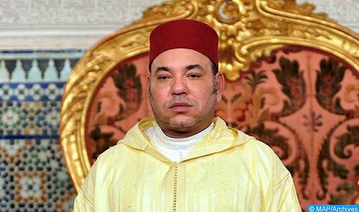 Message de condoléances de SM le Roi à la famille de feu Ahmed Amsrouy Belhassane