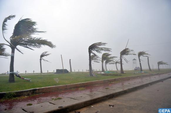 Fortes rafales de vent attendues jeudi et vendredi dans plusieurs provinces du Royaume