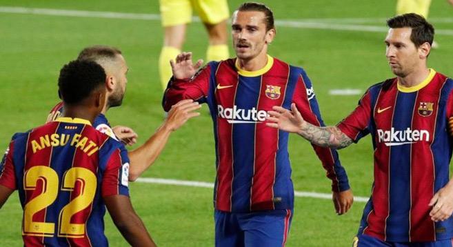 Liga : Messi fait briller Griezmann et le Barça se reprend