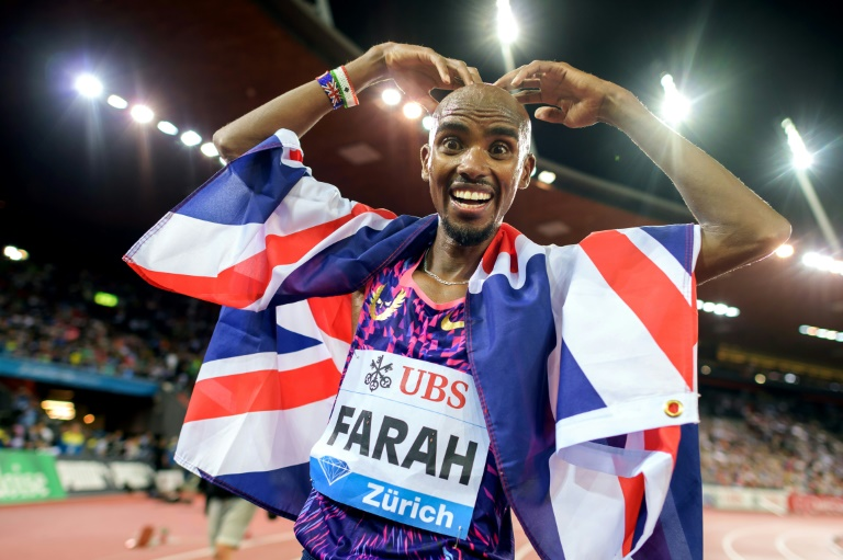 Athlétisme/  Mo Farah fait une pause pour participer à une émission de téléréalité