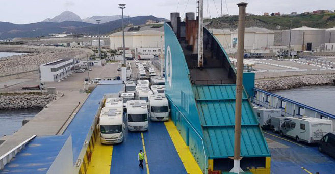 Transport de marchandises : Nouvelle liaison maritime entre Tanger Med et Barcelone