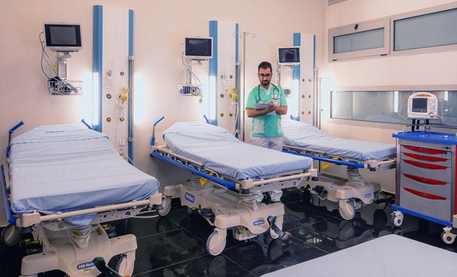 Réanimations : Des services médicaux à part qui fonctionnent à flux tendu