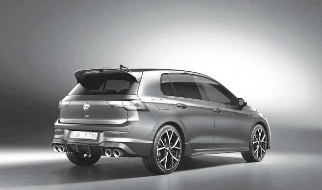 Automobile : Volkswagen Golf R, la plus puissante des Golf 8