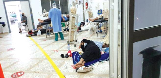 Casablanca : Établissements sanitaires saturés, l'hôpital de campagne entre en scène