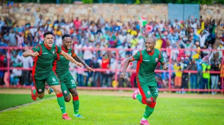 La joie des Burundais après leur victoire sur la Mauritanie
