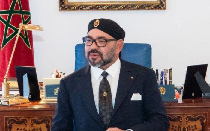 El Guerguarat : SM le Roi Mohammed VI s'entretient avec Antonio Guterres